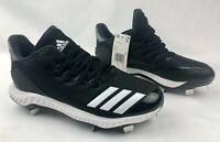 Adidas Icon Bounce Cleats Baseball Metal Black/White CG5241 NEW Mens 7