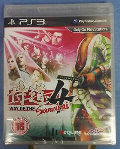 Way of the Samurai 4 Sony PS3 NEW Sealed w/Tear Strip Free UK Post
