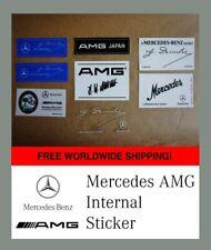 Mercedes AMG INTERNAL sticker Mercedes Japan decal Intern Aufkleber classic car
