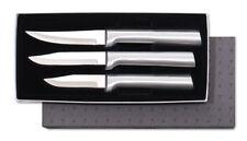 Rada S01 Paring Knife 3pc gift box set sharp USA made kitchen cutlery, silver