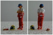 Ayrton SENNA McLaren figurine pilote diorama 1/43 F1 driver figure