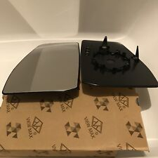 Ford Transit Custom 2013-18 Left Side Passenger Heated Wing Mirror Glass NEW