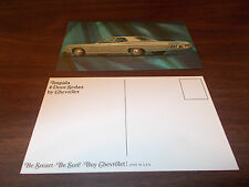 1968 Chevrolet Impala 4-Door Sedan Advertising Postcard