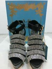 Neu mit Box ANNA DELLO RUSSO AdR Strass Heels Platform Stilettos Schuhe 39