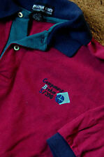 IBM COMPONENT BROKER S/390 red polo shirt size L:short sleeve