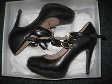 Topshop 100% Leather Court Stiletto Shoes for Women