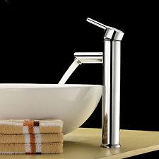 "12"" Faucet Single Handle Bathroom Vanity Vessel Basin Sink Chrome Tap mixer"