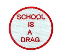 Patch patches backpack deadstock dead stock vintage school is a drag