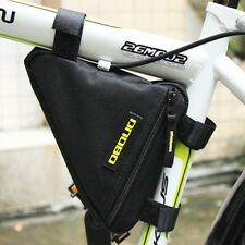 Hot Sell Bicycle Black Frame Bike Bag Top Cycling Triangle Bag Outdoor Sport UK