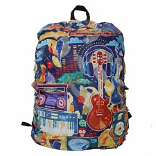"""SMALL """"JOY OF MUSIC"""" BACKPACK COVER"""