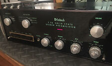 MCINTOSH C 26 STEREO PREAMPLIFIER PREAMP SOLID STATE TESTED