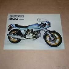 Ducati 900 Darmah SS Brochure NOS bevel twin