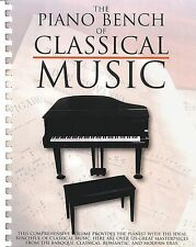 The Piano Bench Of Classical Music Learn to Play OPERA BALLET Music Book