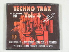 Techno Trax, Vol. 4 by Various Artists (CD, Apr-1992, 2 Discs, ZYX Music)