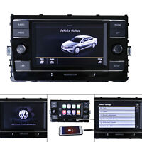 "MQB 6.5"" MIB VW RCD330 Carplay MirrorLink BT USB RVC Car Stereo For Golf 7"