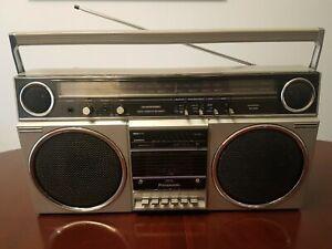 Vintage Panasonic Boombox AM/FM Cassette Stereo Recorder Model RX-5080