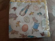 BEATRIX POTTER PETER RABBIT PACK OF 20 PARTY NAPKINS NEW & SEALED EASTER