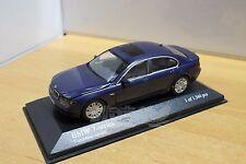 MINICHAMPS 431020204 BMW 7-series 2001 Blue Metallic 1/43 #NEW