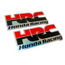 Reflect black stickers HRC Racing for Honda motorcycle motocross big bike decal