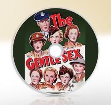 The Gentle Sex (1943) DVD War Comedy Movie / Film Lilli Palmer Rosamund John