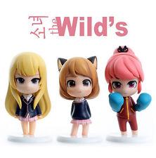 Korea Comic Webtoon Minifigure Girls of the wild's Box Set  (New) 3 Character