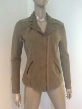 NWT Lucky Brand Women's Olive Green Motorcycle Style Cotton Jacket Small $119