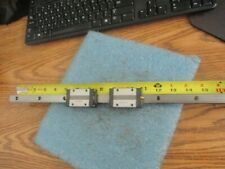 "THK 18"" Linear Rail with Two SSR15  Tables    <"