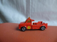 Vintage 1976 Matchbox Superfast No 61 Red Wreck Truck Lorry Toy Collectible