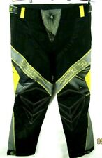 valken redemption paintball pants adult XL 34-40-nwot-black gray and yellow