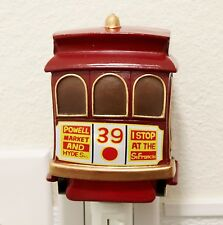 San Francisco Cable Cars Nightlight Lamp Candle Home Decor Party Souvenir Gifts
