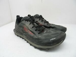 Altra Men's Superior 3.5 Trail Running Shoe Black/Red Size 9.5M