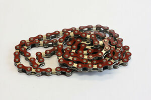 BMX Old School Chain Single Speed Red/Silver