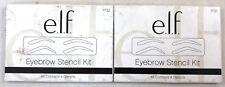 (2) ELF Eyebrow Stencil Kits New & Sealed 4 Stencils EACH 1732