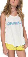 O'Neill Shirts Girls Rider Tank Shirt Winter White Size YS