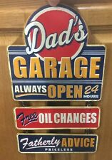 DADS GARAGE Ford Chevy Coupe Hot Rod Model Mobil Texaco Gas Wall Oil Change