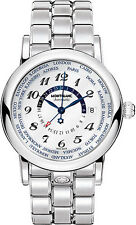 MODEL 109286 |  MONTBLANC STAR | BRAND NEW & AUTHENTIC WORLD-TIME GMT MENS WATCH