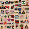 Embroidered Sew Iron On Patches Badge Fabric Bag Clothes Dress Applique Transfer