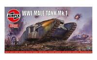 Airfix WWI Male Tank 1/76 Model Kit
