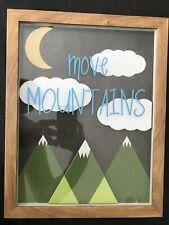 Pillowfort Move Mountains Baby Kid Art