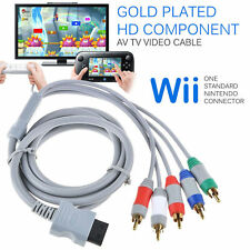 Plated High HD Component AV Video Cable For NINTENDO WII Console  YS