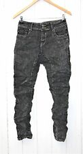 Simply Chic Boyfriend Baggy Jeans Trousers Buttons Stretch gr.36/S Black