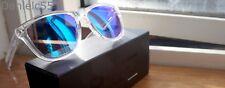 Venditori TR90 air-sky one Occhiali da sole BLUE CORNICE CON SPECCHIO lenti chiare