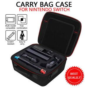 Carry Bag Case for Nintendo Switch Cover with Shoulder Strap & Carrying Handle
