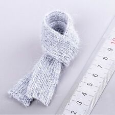 """1/6 Scale Scarf Gray For 12"""" Hot Toys Figure Body"""