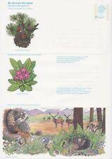 GB Sellos Aerograma/letra de aire APS49 - 20p escocés Flora & Fauna, naturaleza 1981