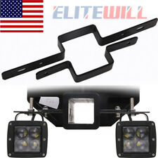 Tow Light Bracket Steel Tow Hitch Mounting Bracket For Dual LED Backup Reverse