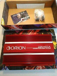 NOS Orion 225 HCCA oldschool cheater amp pop top gen