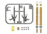 Tamiya 1/12 Detail Up Parts No.84 Yamaha YZF-R1M Front fork set 12684 Japan
