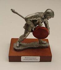 Etain du Prince figurine Sapeur Pompier etablissement d' une petite lance *L@@K*