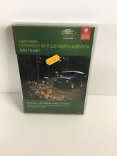 LHP28 LANDROVER DEFENDER NAS PARTS/WSHOP MANUAL + OWNERS LITERATURE  CD ROM